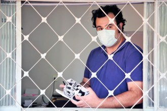 Henrique Feernandes lança o Diário da Pandemia (Foto: Ricardo Boni/Divulgação)