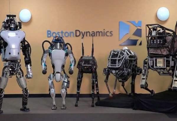 Это роботы Boston Dynamics/