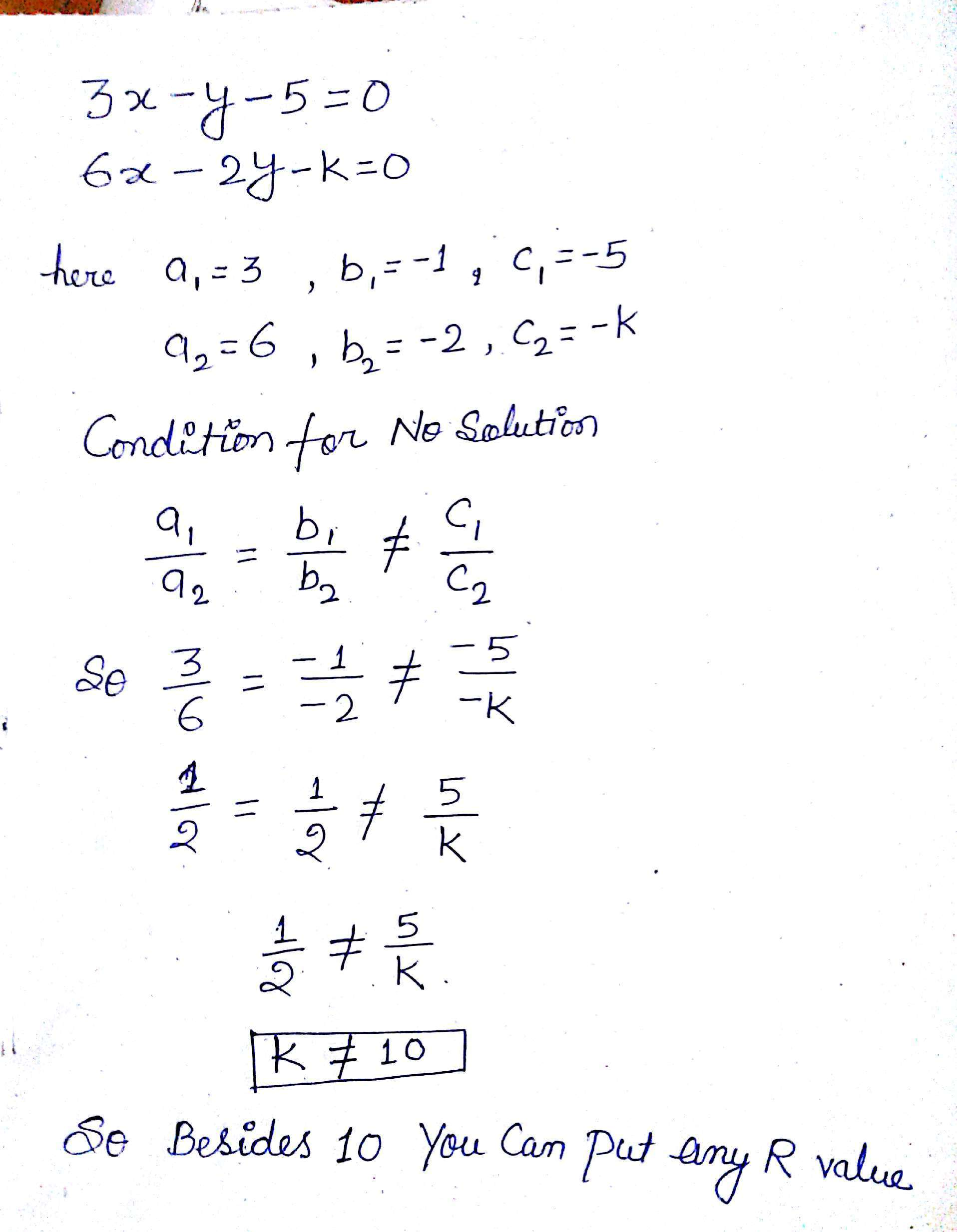 What Is A System Of Equations That Has No Solution