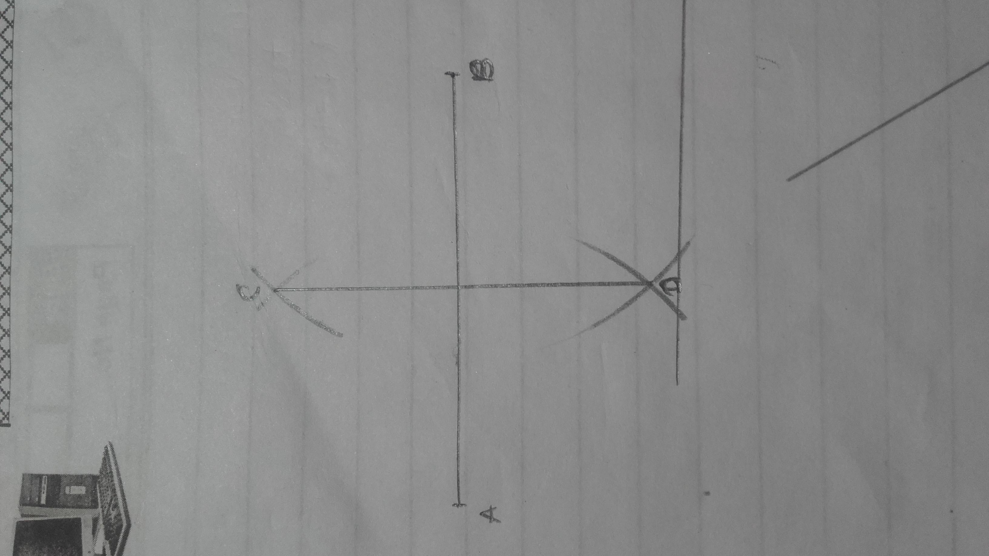 How To Draw An Segment Of Of The Length 6m Then Draw A