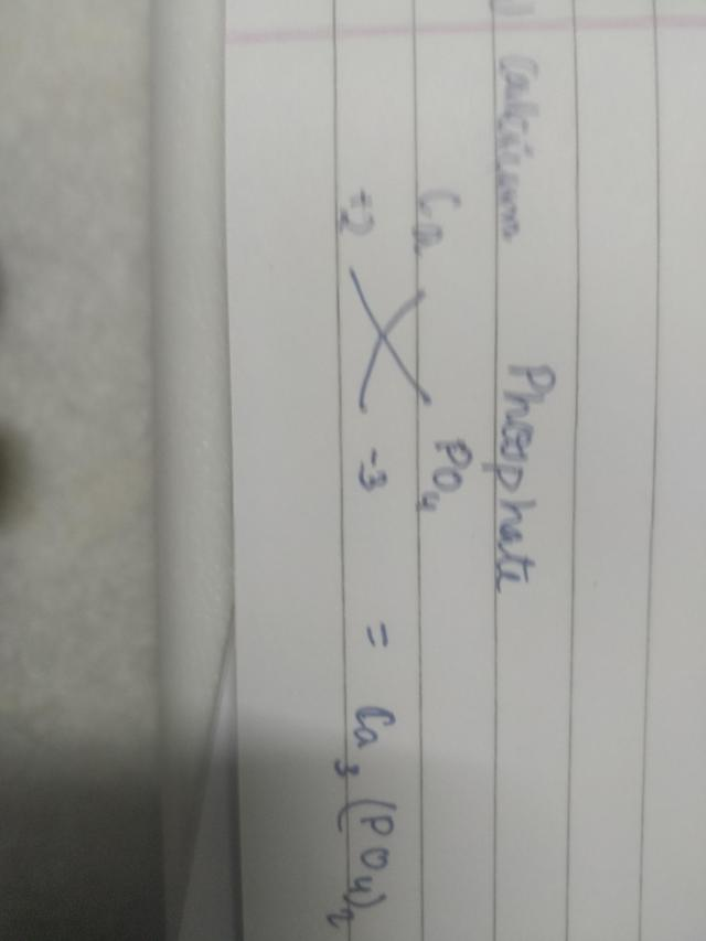 formula of ammonium sulphate and calcium phosphate is using criss