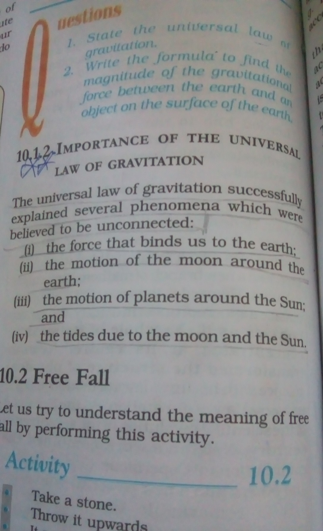 What Is The Importance Of Universal Law Of Gravitation