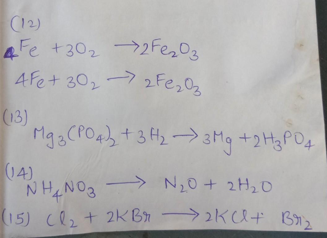 Balance The Following Equation 1 Pbcl2 Agno3 Gt Pb No3 2