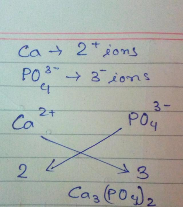 How Do You Find The Formula For Calcium Phosphate