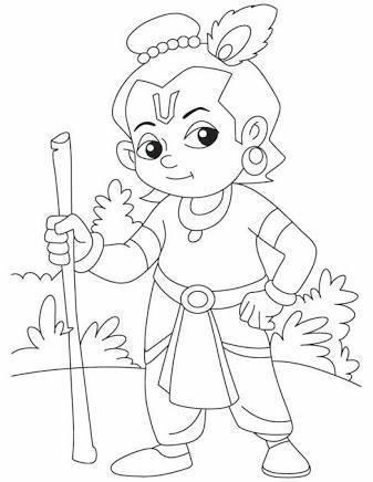 Easy Drawing Of Lord Krishna Face Glodakk