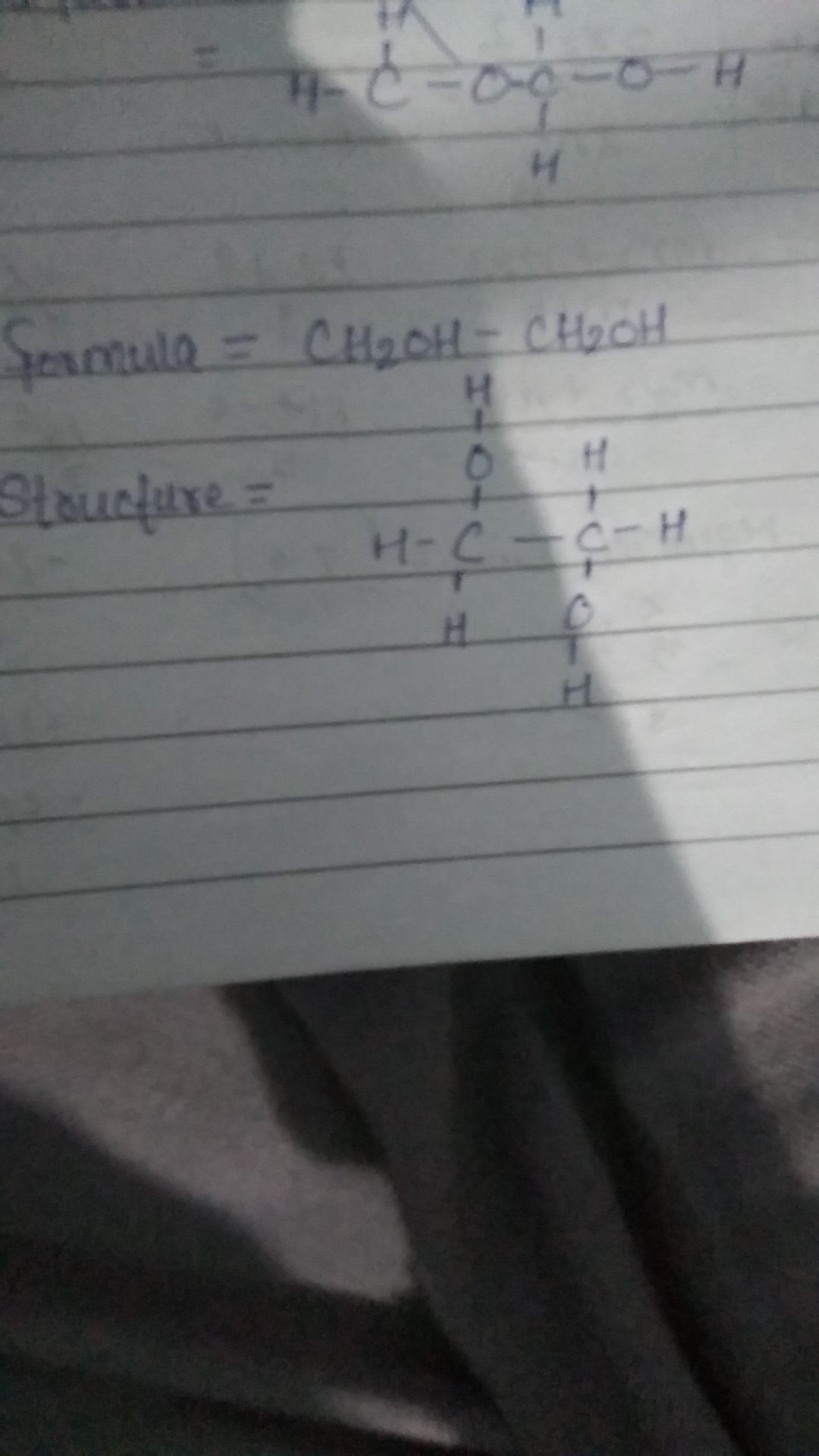 Can You Please Draw The Structure Of Ch2oh Ch2oh
