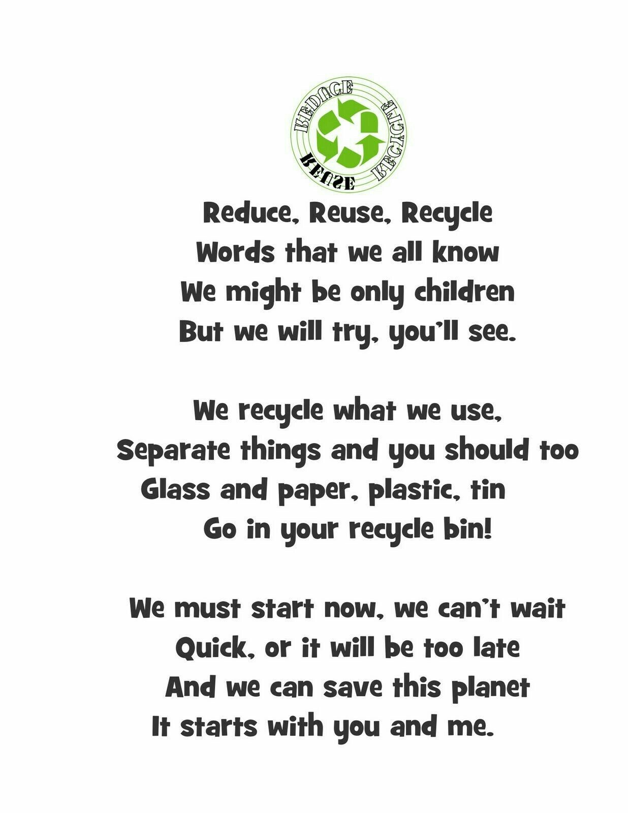 A Poem On How We Can Reduce Pollution