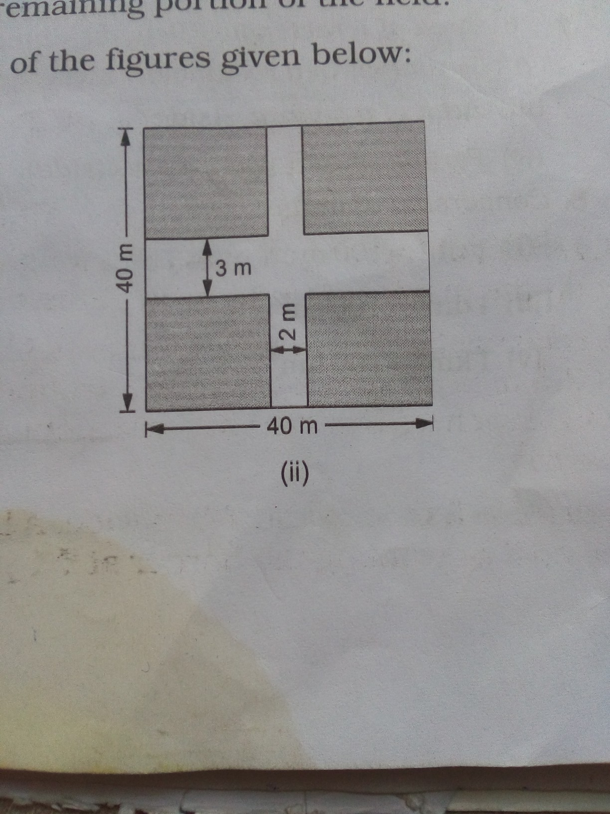 Calculate The Area Of The Shaded Region In Each Of The