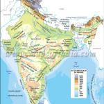 Mark The Various Topographies On The Physical Map Of India Brainly In