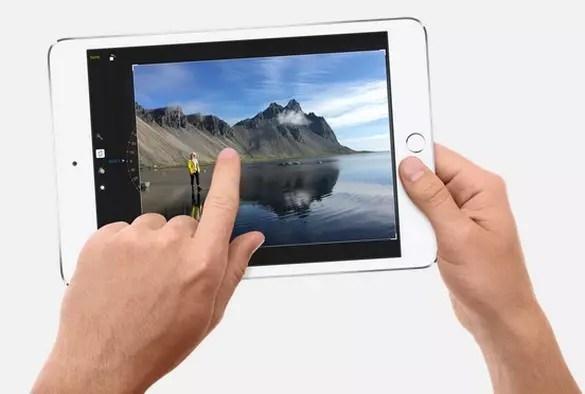 Apple анонсировала iPad mini 4