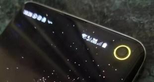 تطبيق رهيب لوضع مؤشر البطارية حول الكاميرا s10+/Galaxy S10
