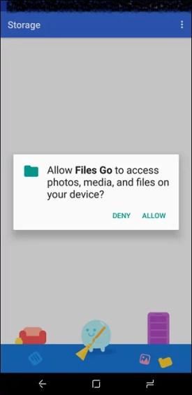 تطبيق google لتحرير ذاكرة الهاتفك الخاص