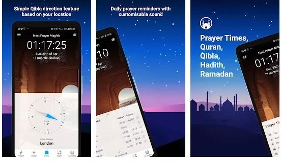 تطبيقات رمضان : أذان برو مسلم: أوقات الصلاة والقرآن