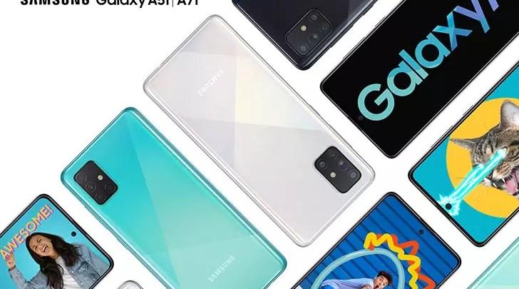 سعر و مواصفات Samsung Galaxy A71 – المميزات والعيوب