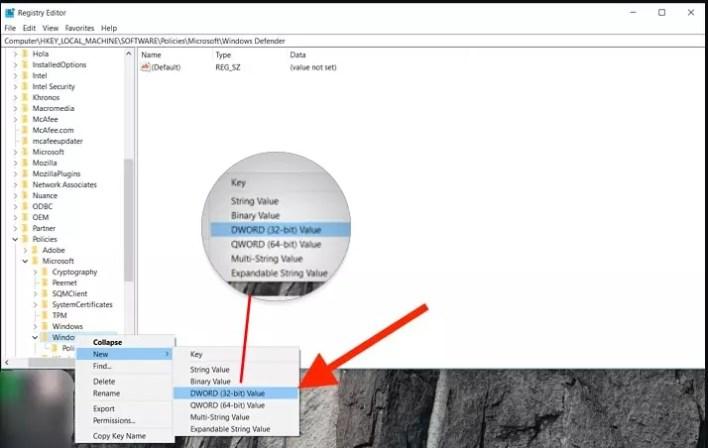 ايقاف ويندوز ديفندر Windows Defender في ويندوز 10 بشكل دائم