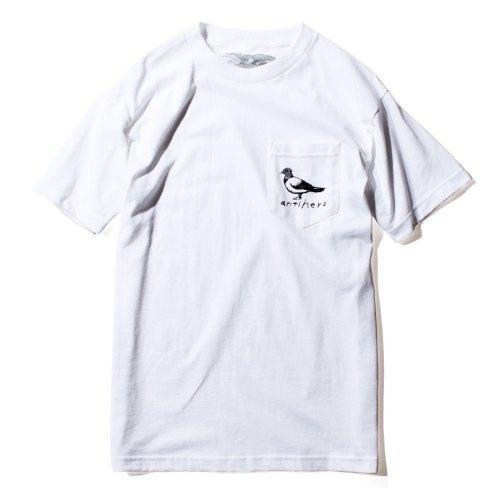 ANTIHERO BASIC PIGEON ポケット Tシャツ ホワイト