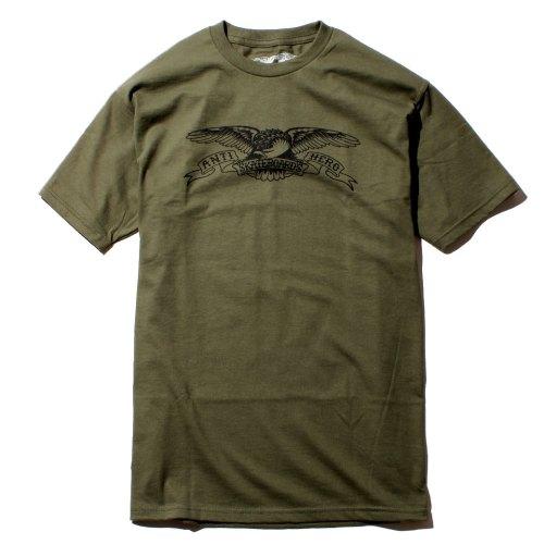 ANTIHERO EAGLE Tシャツ オリーブ/ブラック