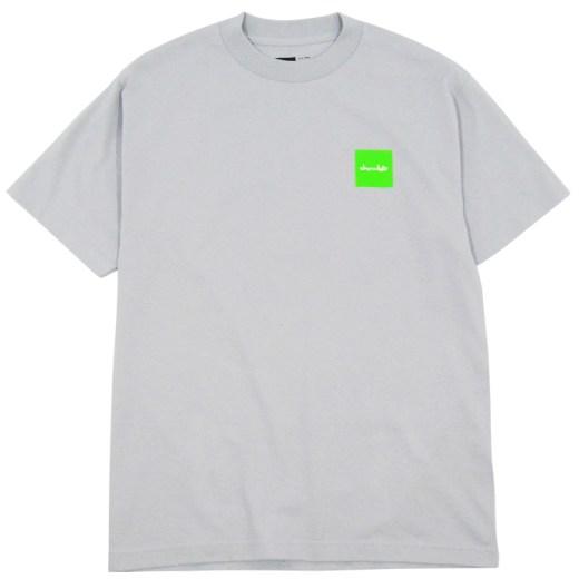 Chocolate スケボー スケートボード Tシャツ 通販 Fluorescent Square T-Shirt 01