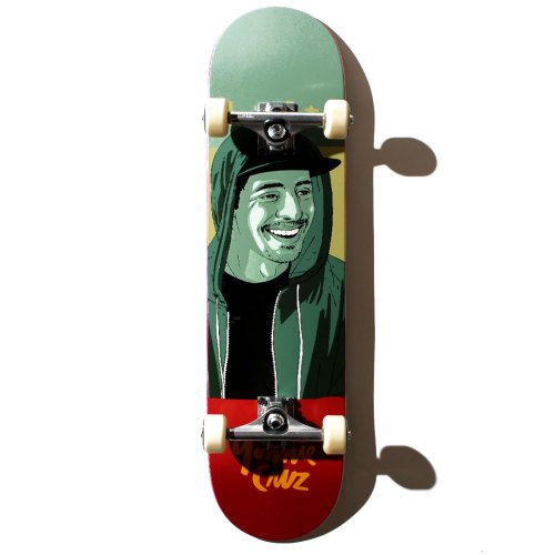 ストリートスケートを楽しみたい人におすすめのコンプリートデッキ CHOCOLATE ONE OFF ヨニー・クルズ 8インチ