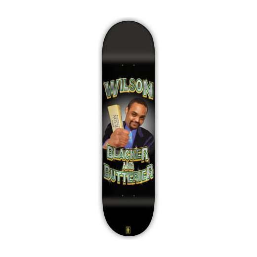 GIRL Skateboard Jeron Wilson BLACKER&BUTTERIER 01