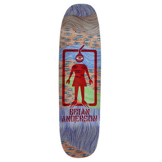 GIRL スケボー スケートボード ブライアン・アンダーソン POWERSLIDE