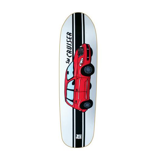 Skate Mental スケボー スケートボード デッキ オールドスクール クルーズ TEAM MODEL SM CRUISER