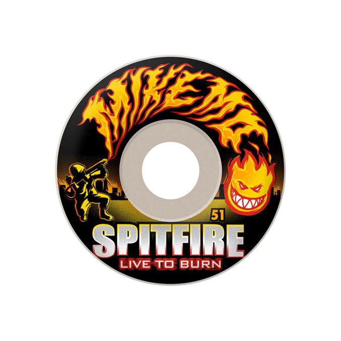 SPITFIRE WHEELS スケボー スケートボード ウィール Mike Mo SIGNATURE CALL OF DUTY 52mm