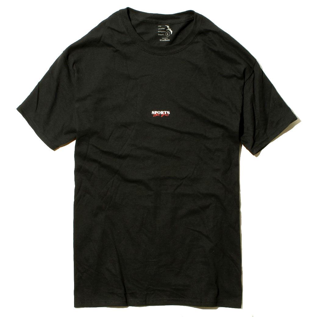 Hi5 オリジナル Tシャツ SPORTS LIKE SHIT ブラック