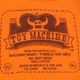 Toy Machine Skateboards Sect Eye Face T-Shirt 05