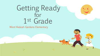 Getting Ready for 1st Grade