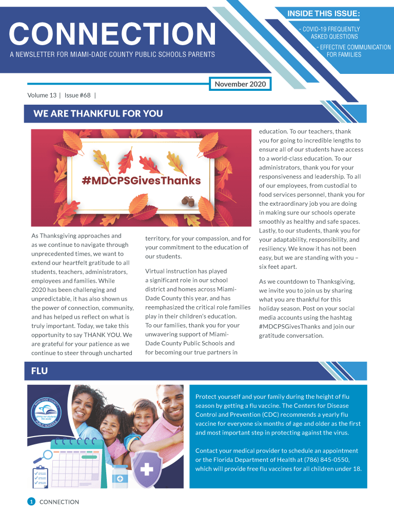 page 1 newsletter
