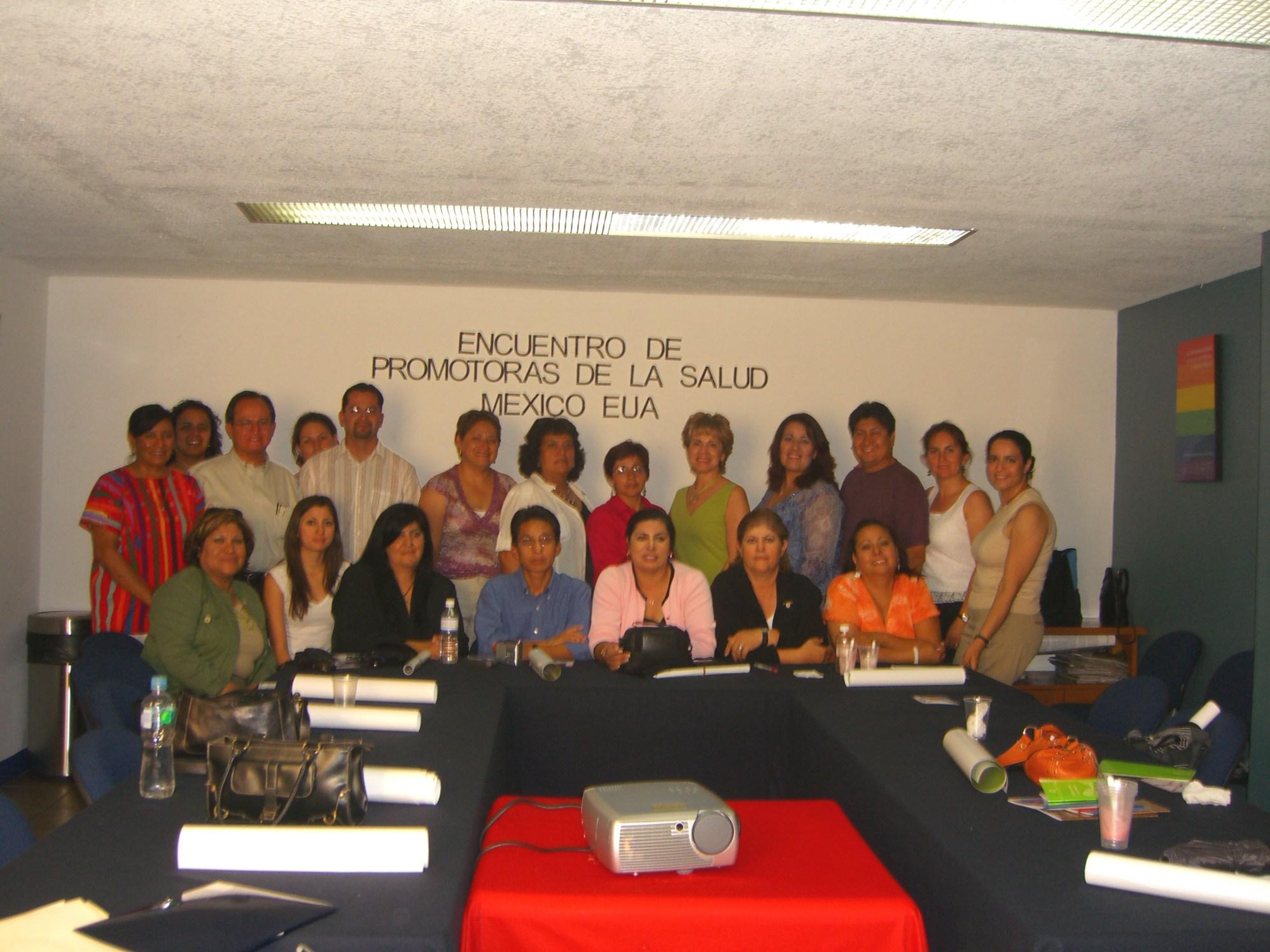 grupo con Gerardo Huerta Oaxaca 2006 048