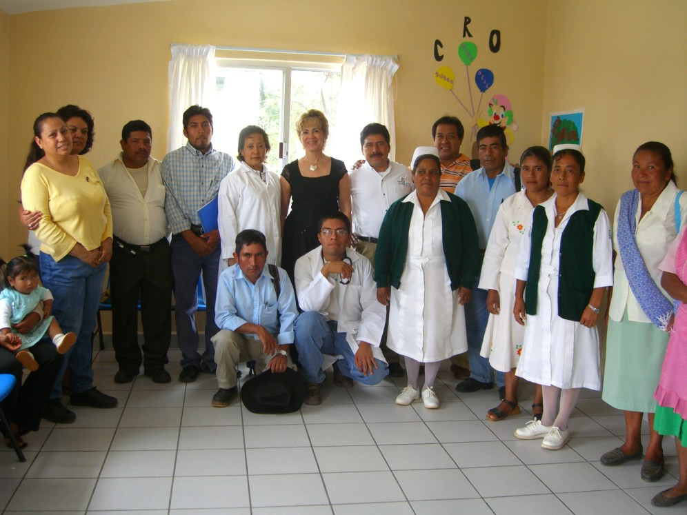 grupo en UMR La Herradura Oaxaca 2006 088