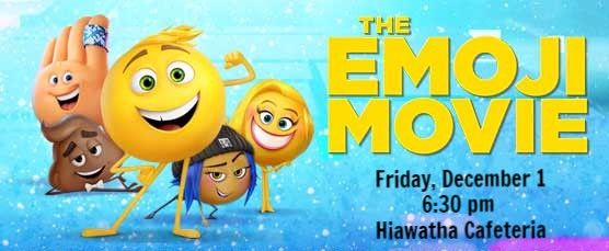 The Emoji Movie – Family Movie Night at Hiawatha