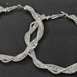 Chunky Hoops Earrings Pakistan