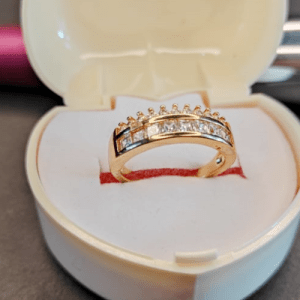 Gold Plated Ring Design with Price in Pakistan 2021