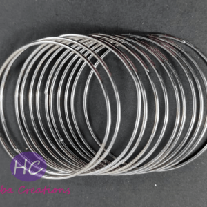 Silver Plain Metal Bangles Design with Price in Pakistan 2021