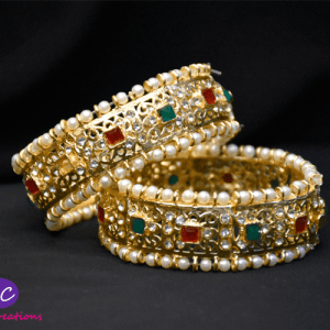 Traditiona Gold Plated Hyderabadi Kangan Design with Price in Pakistan 2021 Online