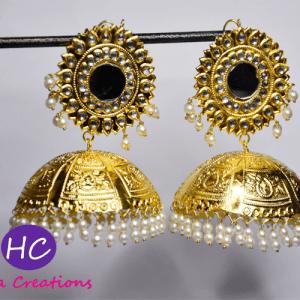 Bahawalpuri Golden Jhumkas Design with Price in Pakistan 2021 Online