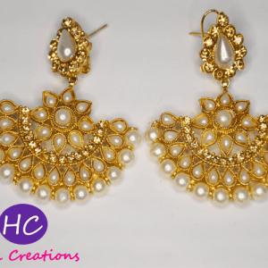 Half Moon Style Golden Earring Price in Pakistan Online 2021
