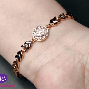 New Design gold plated bracelet price in pakistan 2021 Online
