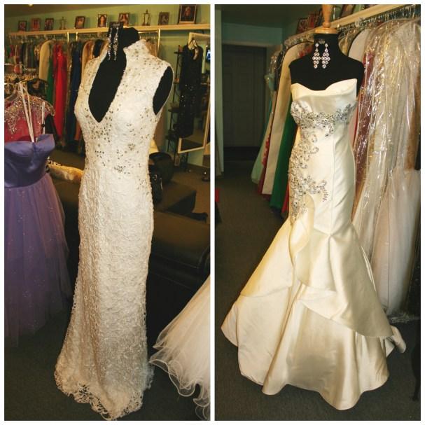 White Dress Glam Squad