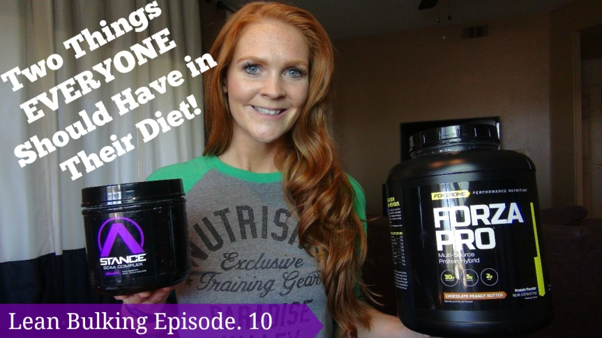 Two Things EVERYONE Should Have in Their Diet ! Lean Bulking Episode.10