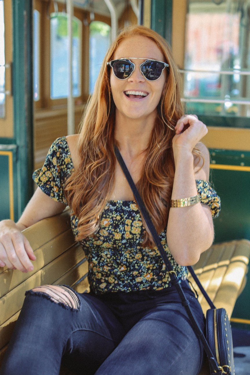 San Francisco trolly ride! Tips for traveling