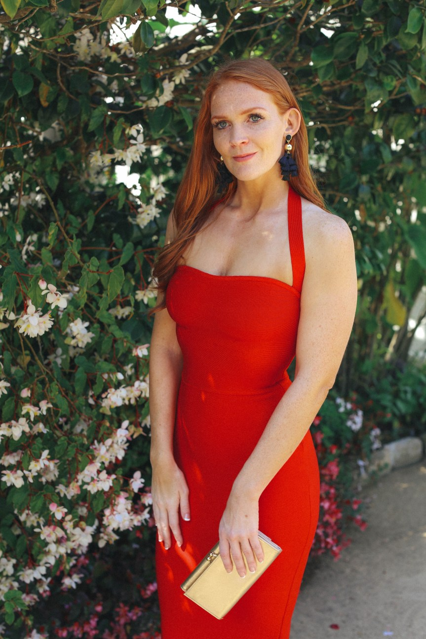 Favorite Red Dress For The Holiday - Bell Hibbs Fashion Blogger