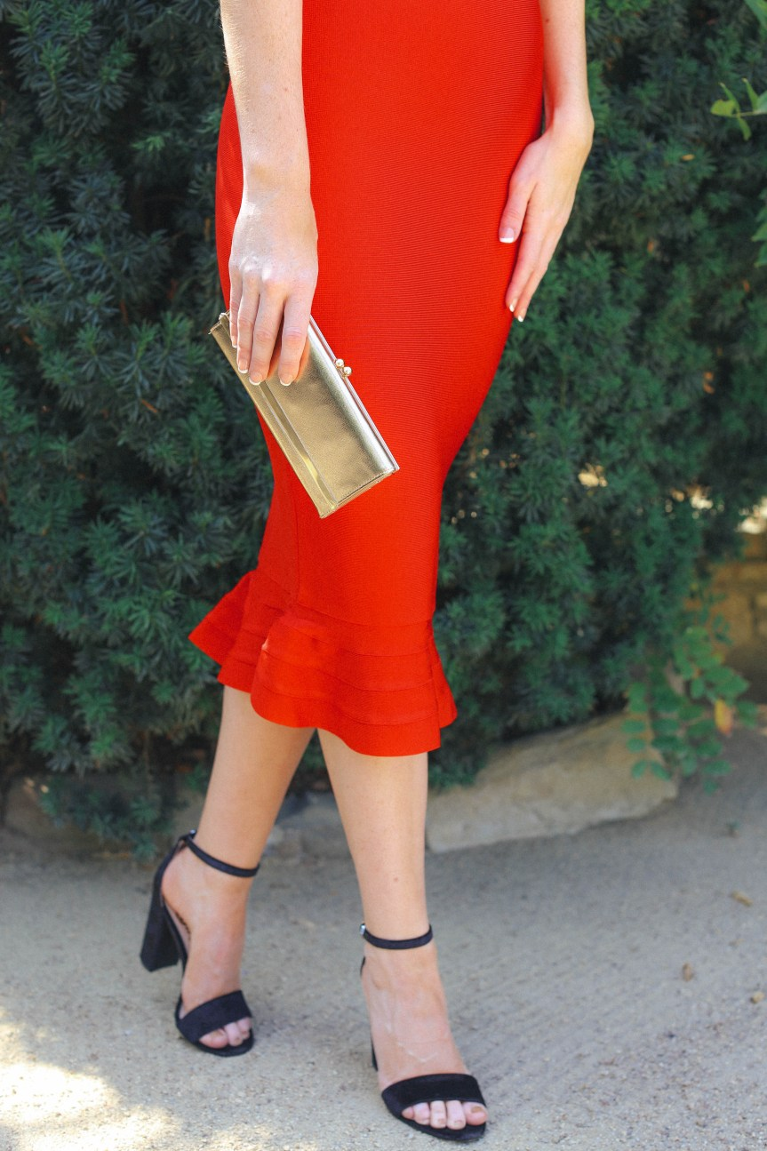 Date night dress with the perfect accessories