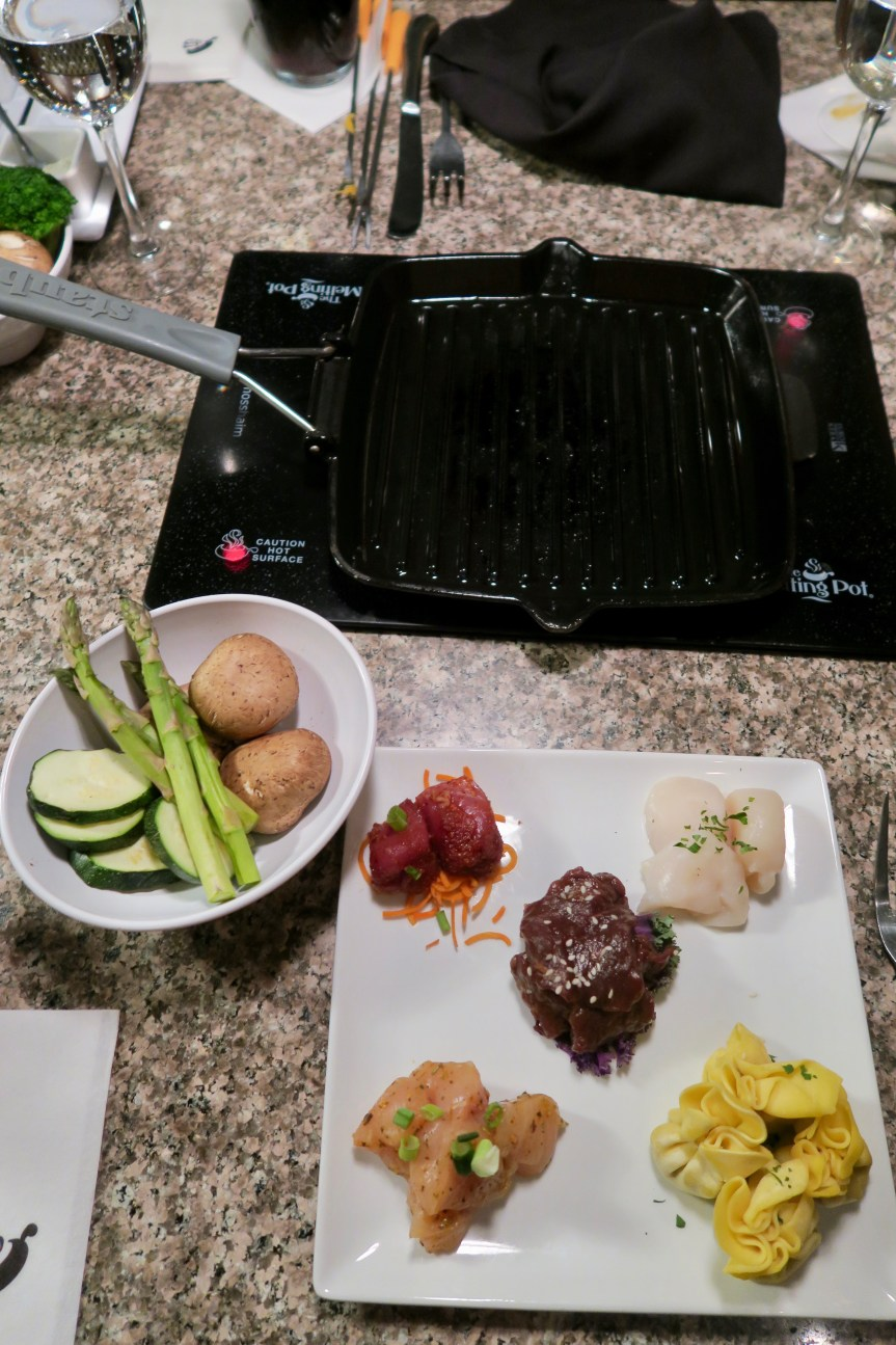 The Melting Pot Grill Cooking Style
