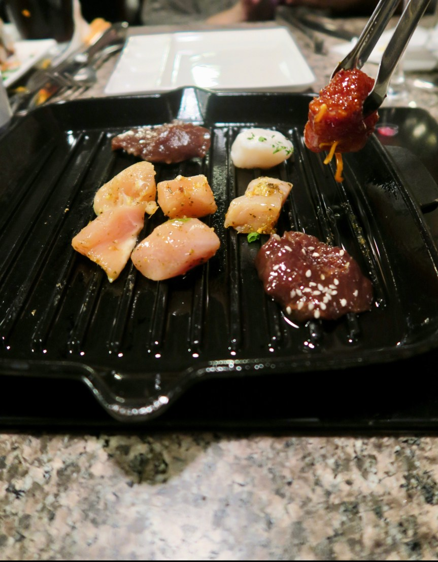 The Melting Pot Grill Cooking Style- Meat option