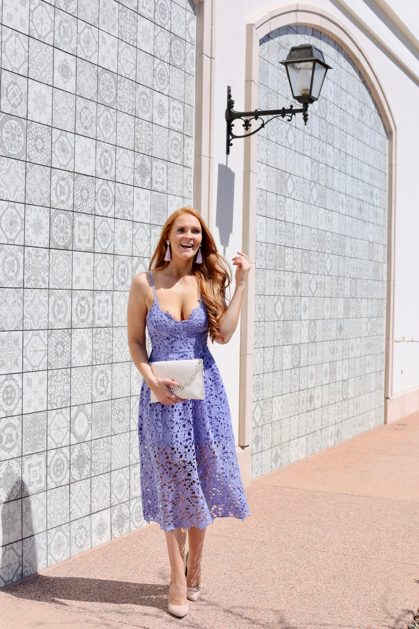 Lavender Spring Dress Under $100