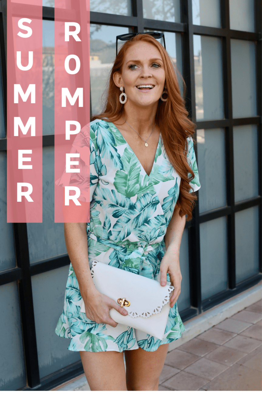 Resort Wear Romper For the Summer